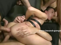 big cock, ass, bondage, gangbang, k.d., double penetration, facial