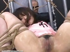 extreme, masochism, bdsm, slave, hardcorepunishments, tied, domination, brutal, japanese, sadism, screaming