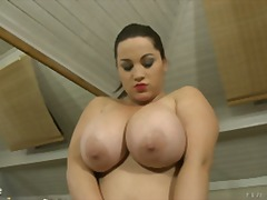 big tits, boobs, chubby, natural tits, solo