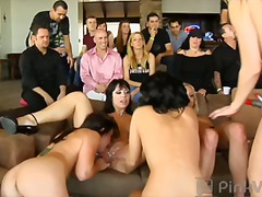 oral, public, party, lesbian, group sex, orgy
