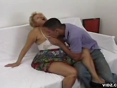 Old cunt stuffed with young studs huge cock