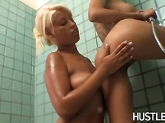 Lusty hot bridgette b having hot inside tthis person shower with her erotic angelfriend