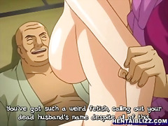 gangbang, girl-on-girl, japanese, bandits, animation, hentai, double-penetration