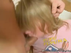 bj, blond, driesaam, amateur
