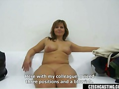 casting, pov, point-of-view, brunette, reality, anal, milf, blowjob, sucking, big-boobs, authentic, hardcore, czech