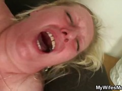 blond, amateur, ouer, hard