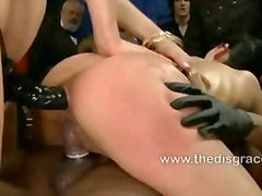extreme, public, disgrace, slave, humiliation, leather, sadomaso, bizzare, fetish, bondage