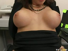 Chanel preston hook up with a hard rod in this lad office