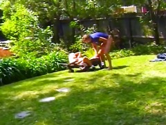natural, blowjob, k.d., big-dick, outdoors, sucking, blonde, doggystyle, amateur, hardcore, pussy-eating