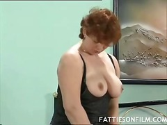 redhead, mature, nylons, horny, amateur