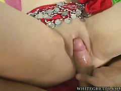 large-breasts, big-tits, cream-pie, hardcore, blowjob, natural, indian