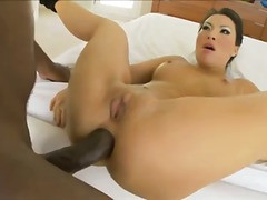 blowjob, heels, vaginal, sex-toys, ass, interracial, big-tits, asian, oral, cock-riding, deepthroat, anal, cum-shot