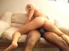 bj, amateur, bj, oraal, inter-ras, blond, hondjiestyl, hard,