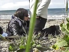 oral, blowjob, outdoors, milf, homemade, hardcore, mature, fun, beach, wife, real, public-sex