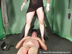 cock-riding, mistress, cbt, slave, femdom, ball-licking, pain