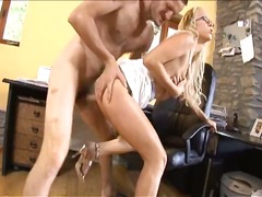hardcore, blonde, blowjob, secretary, pornstar, babe, ass, office, anal