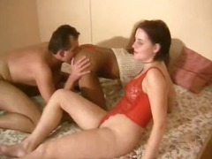 brunette, threesome, blowjob, girl-on-girl, interracial, german, kinky, amateur, 3some