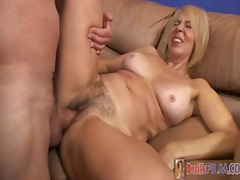 blonde, natural, hairy, k.d., foot-fetish, gonzo, big-tits