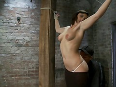 shaved, bdsm, squirt, humiliation, bondage, clamps, fetish, slave, orgasm