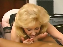 bj, blond, milf, hard