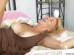 blonde, sex-toys, anilos.com, cum-on-tits, cougar, cum-shot, mature