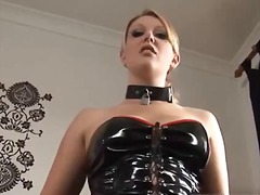 lingerie-videos.com, blonde, latex, fetish