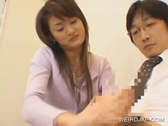 japanese, fetish, sex-toys, pussy-eating, uniform, toys, brunette, hardcore, asian, group, hairy