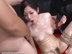 extreme, screaming, japanese, brutal, domination, masochism, tied, bdsm, hardcorepunishments