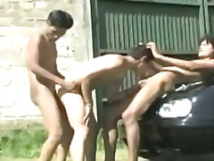 jeunes gay, gay, jeune fille, interracial, gay, latines