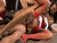 masturbation, cum-shot, blonde, stockings, stella delacroix, vagina, anal, vaginal, heels, blowjob