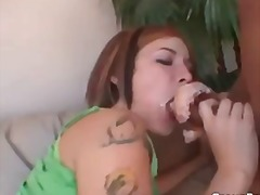Red head chick getting destroyed
