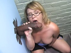 red-head, big-dick, big-tits, interracial, hand-job, blow, gloryhole, cocksucking,
