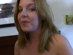 milf, cuckold, bj, hard, vrou, oraal, blond, bed