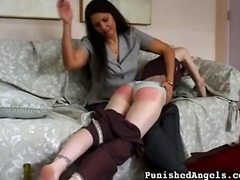 spanking, over, hard, rough, whipping, fucking