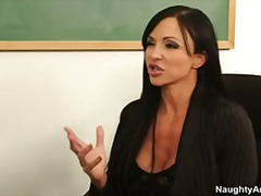 milf, busty, students, professor, first, cougar, teacher, school, college, pornstar