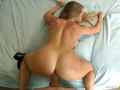 pov, big, tits, couple, blonde, hardcore, girlfriend, boobs