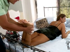 Hard, Asiër, Lateks, Blond, Pov