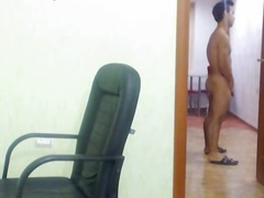 gay, masturbation, bien monté, webcam, solo