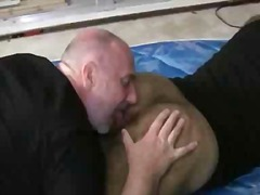 fat, bear, rimming, lick, ass, gay