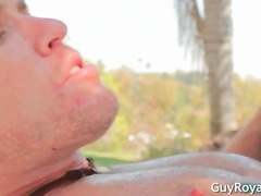 brunette, fucking, creampies, gay, outdoors, blowjob, sucking, hunk, hardcore, studs, babe, anal