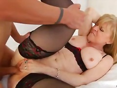 hard, blond, pornstêr, bj