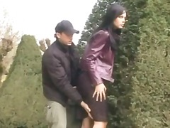 masturbation, vaginal, handjob, outdoors, public, oral, caucasian, couple, blowjob
