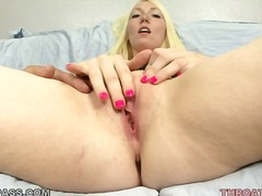 shaved, oral, pussy, natural, boobs, lick, deepthroat, white, blowjob