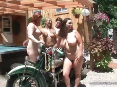 reality, group, outdoors, webcam, stripper, public, lesbian