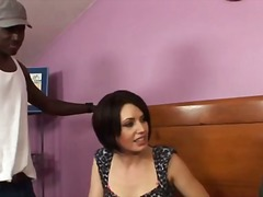 reality, milf, cuckold, pornstar, interracia, brunette, threesome, bisexual, blowjob