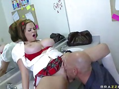 Schoolgirl katie kox is a bad