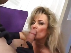 blonde, mature, blowjob,
