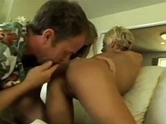 Dominica and amber anal threesome