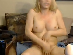 solo, shemale, speelding, amateur, webcam, blond