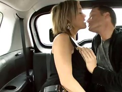 babe, car, blowjob, oral, hardcore, blonde, couple
